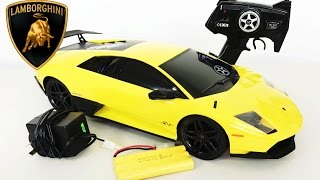 Lamborghini Murciélago lp670-4 RC Remote Control Super Car Unboxing 1:10