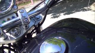 Honda Shadow ACE 1100  1995 г. звук выхлопа