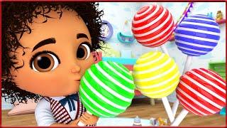 All Colors Song - Learn Colors, Teach Colours, Baby Toddler Preschool, Banana Cartoon Original Songs