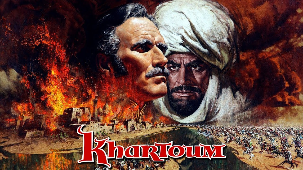 Image result for khartoum poster 1966