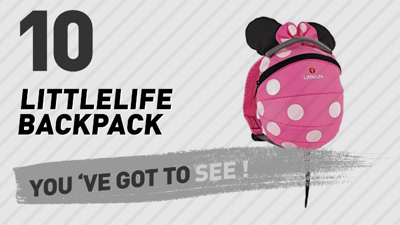 littlelife disney toddler daysack minnie  Littlelife Backpack Great Collection, Just For You! // UK Best ...
