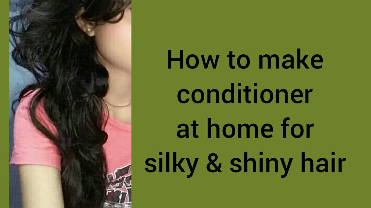 How To Make Hair Shiny Naturally At Home