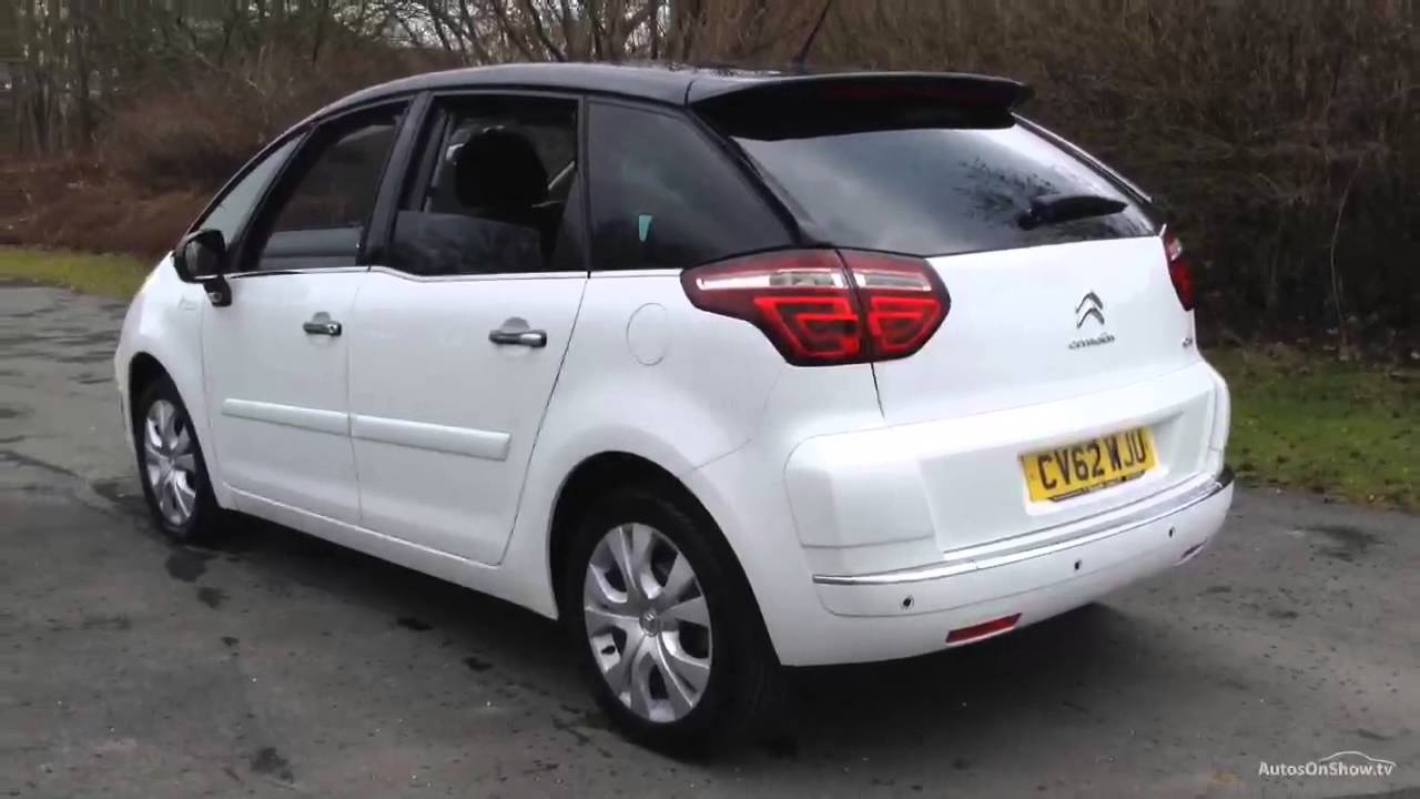 citroen c4 picasso platinum hdi white 2012 youtube. Black Bedroom Furniture Sets. Home Design Ideas