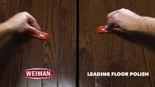 Weiman Hardwood Floor Polish Fades and Prevents Scratches