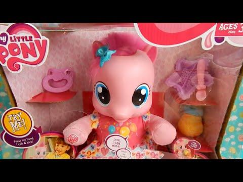 Learn To Walk Pinkie Pie My Little Pony Baby Black Friday Walmart - YouTube