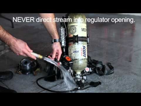 How to Clean your SCBA & Components
