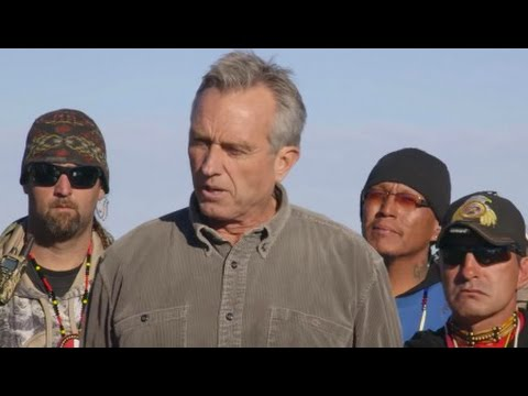 Standing Rock Visited by Waterkeeper Alliance President Robert F. Kennedy, Jr.
