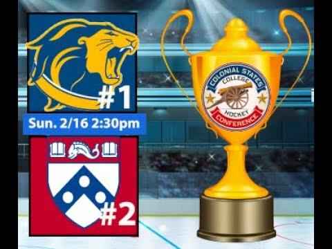 2020 Colonial Cup Championship: #1 TCNJ Vs. #2 UPenn