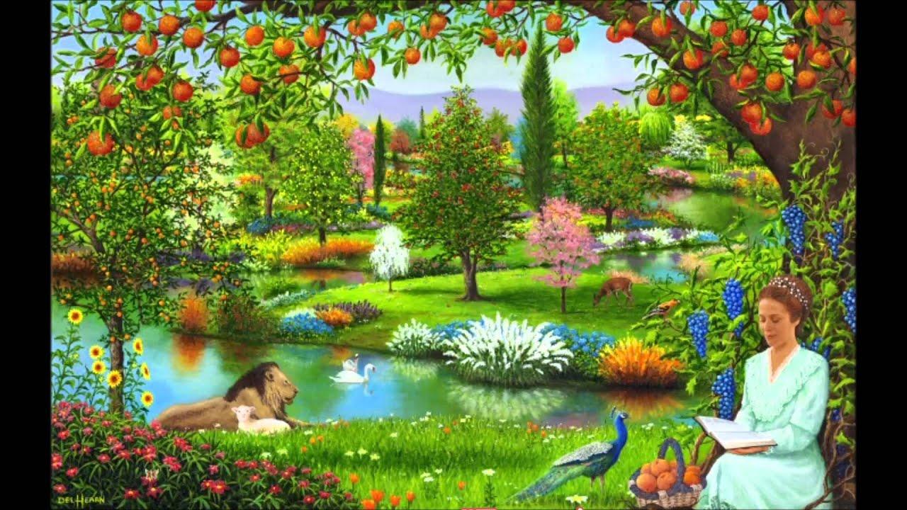 Poesia italiana angelo che dal cielo fu rapitaversi di for Cancion en el jardin del eden