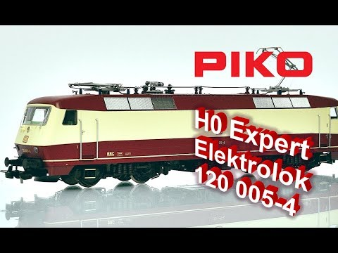 Spur H0 PIKO 51322 Sound-Vorserien-E-Lok 120 005-4 der DB Ep.IV