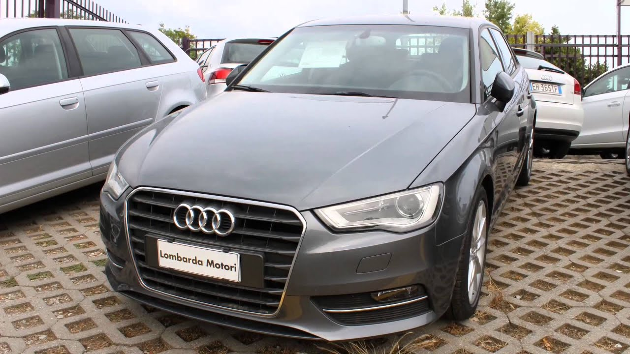 audi a3 sportback 1 6 tdi ambition 105 cv youtube. Black Bedroom Furniture Sets. Home Design Ideas
