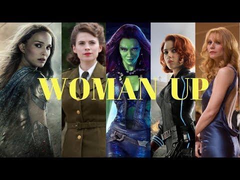 Women of Marvel - Woman Up   Marvel Fanvid