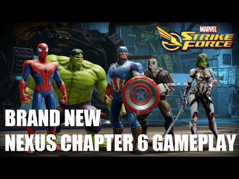 Marvel Strike Force - Nexus Chapter 6 Playthrough