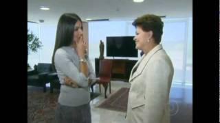 Globo edita 'bronca' de Dilma em Patrícia Poeta. Veja aqui a cena!