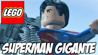 Lego Batman 3 - Superman GIGANTE e o fim da história