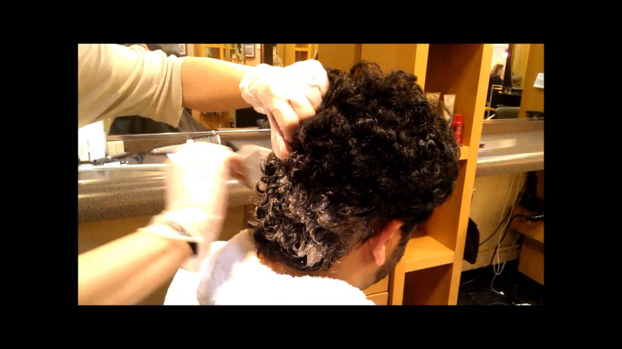 Men S Hair From Curly To Wavy Youtube