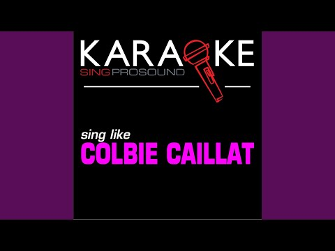 Kiss the Girl (In the Style of Colbie Caillat) (Karaoke Instrumental Version)