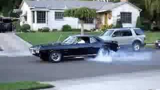 1969 Firebird Burnout