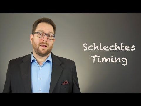 Video 78: Schlechtes Timing