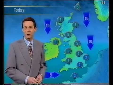 itv national weather friday 27th december 1996 youtube. Black Bedroom Furniture Sets. Home Design Ideas