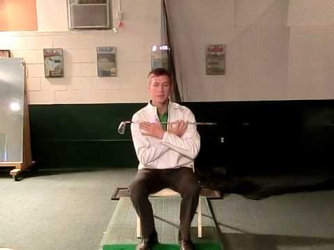 Seated Rotation Exercise for Winter: By Justin Scott