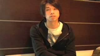 「東京俳優市場2010春」第3話から原田悠吾さんのインタビューです。