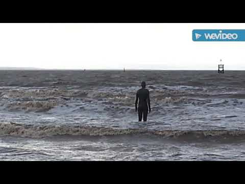 Antony Gormley sculptures -Another Place