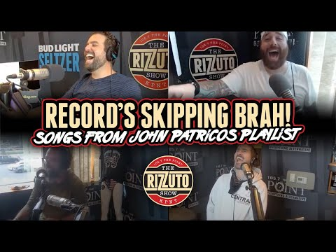 Record's Skipping Brah! Songs from PAW PAW PATRICO's playlist [Rizzuto Show]