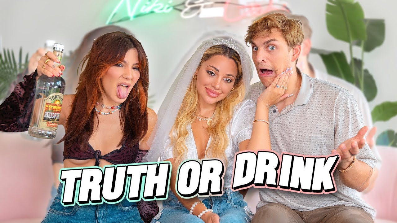 Who Will Spill the Most Tea About Gabi? Twin VS Fiancé (Truth or Drink)