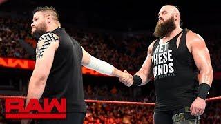 Braun Strowman Kevin Owen and Finn Balor Full Match On Monday Night Raw