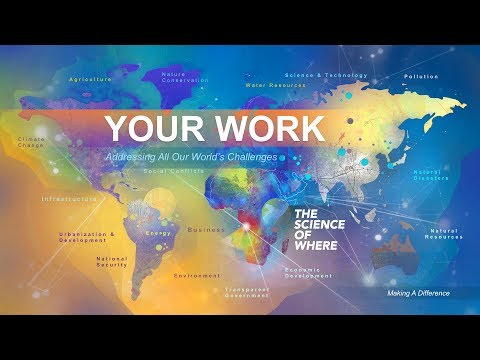 Esri UC 2017: Your Work—Making a Difference