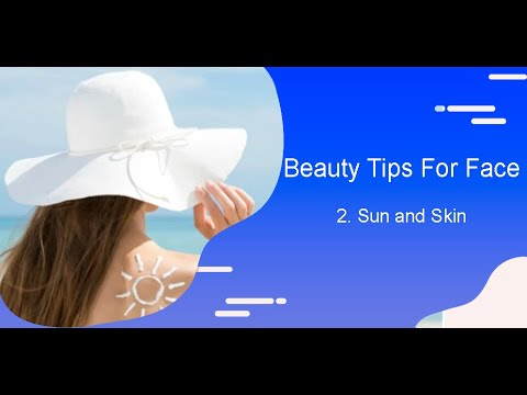 Qvid Vlogs Beauty Tips For Face 2 Sun And Skinn