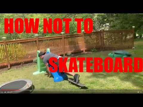 How NOT To Skateboard (and Some Slow Motion Tricks!)