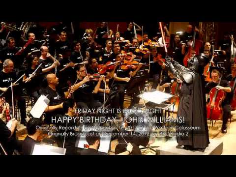 Friday Night is Music Night: Happy Birthday, John Williams!