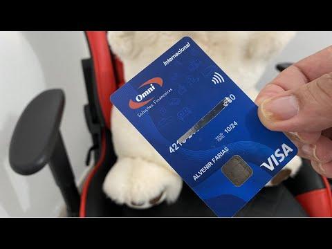 Conheça O Cartão Visa Internacional E Conta Digital Do  Omni Banco