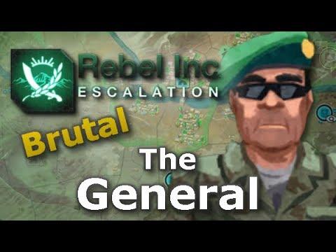 Rebel Inc. Escalation: Brutal Guides - The General + Southern Desert