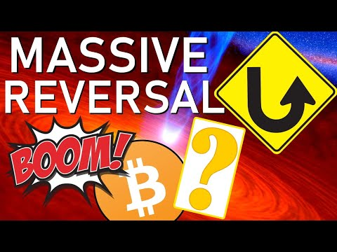 MASSIVE REVERSAL! WTF: IS THIS WHAT WE'RE IN FOR? 50% BITCOIN DROP? CRITICAL MOVE: MUST BE READY!