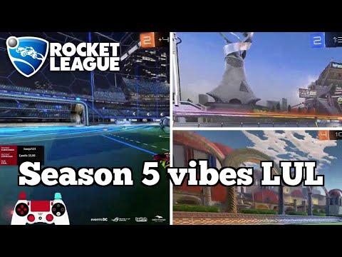 Daily Rocket League Moments: Season 5 vibes LUL thumbnail