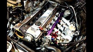 Projekti etenee! M104 turbo projekti pt.2