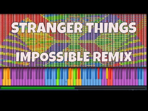 IMPOSSIBLE REMIX - Stranger Things Theme - Synth Cover