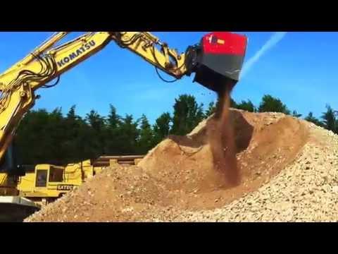 Video Třídící lopata VTN DSG série