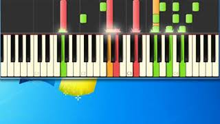 Everly Brothers   Bird dog [Synthesia Piano] [Piano Tutorial Synthesia]