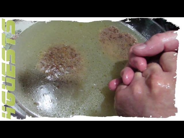 Pan Frying Hamburgers in Skillet ~ Our Way at Home