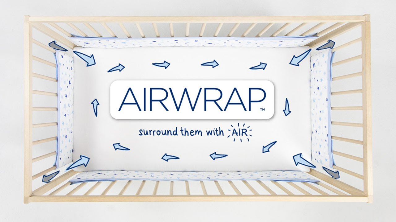 Airwrap Cot Bumper Airwrap Surround Them With Air