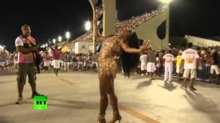 В Рио-де-Жанейро прошла репетиция карнавала(, 2015-01-19T10:26:50.000Z)