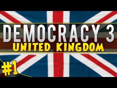 "Democracy 3: United Kingdom - ""Rule Britannia!"" [Part #1]"