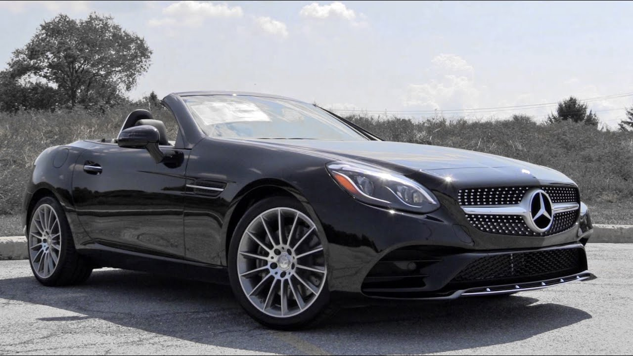 2017 mercedes benz slc300 review youtube for Mercedes benz of towson
