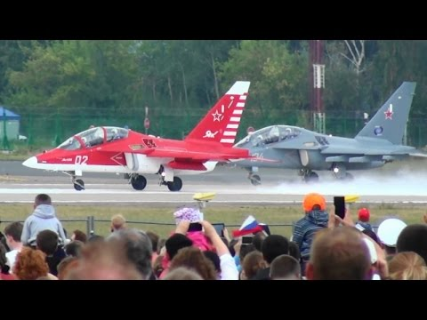 MAKS 2015 Yak-130 DemoFlight
