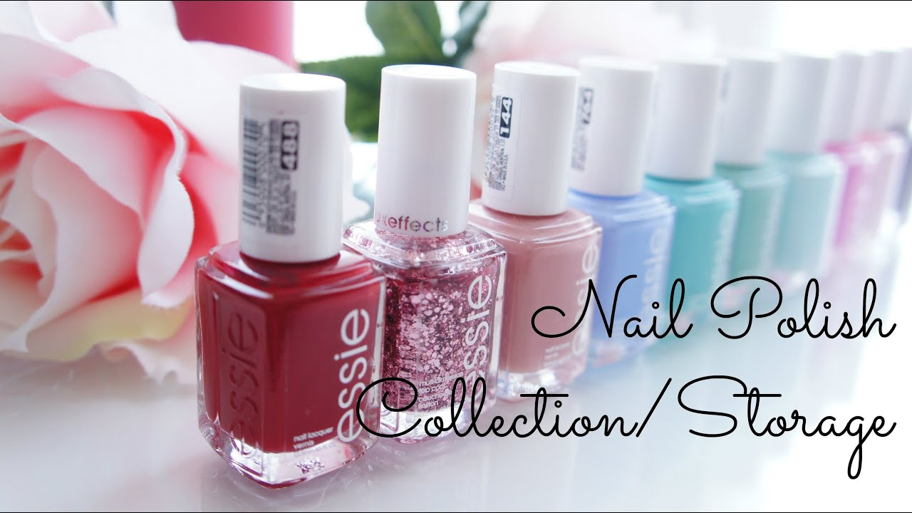 My Nail Polish Collection/Storage and Favorites! - Belinda Selene ...