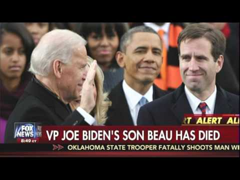 Joe Biden Announces Death of His Son, Beau Biden, Due to Brain Cancer